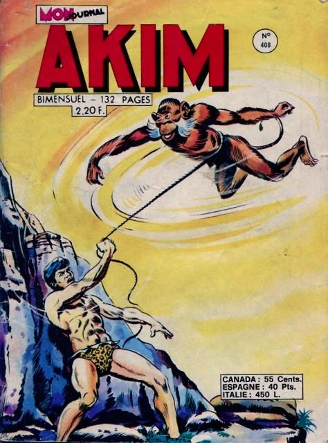 Couverture de Akim (1re série) -408- Le royaume inconnu
