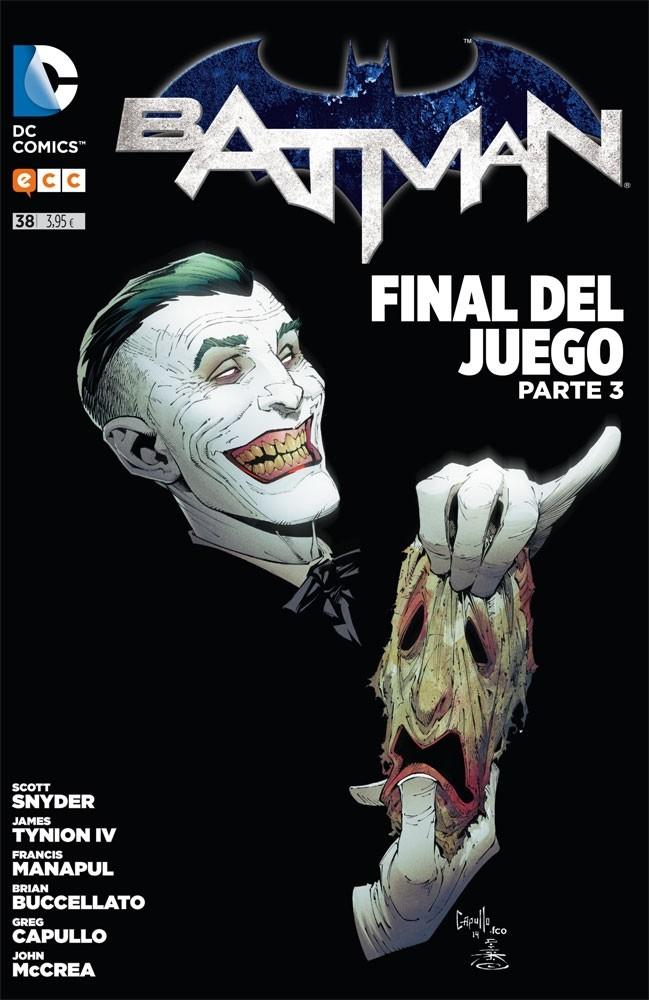 Couverture de Batman (en espagnol) -38- Final del Juego. Parte 3