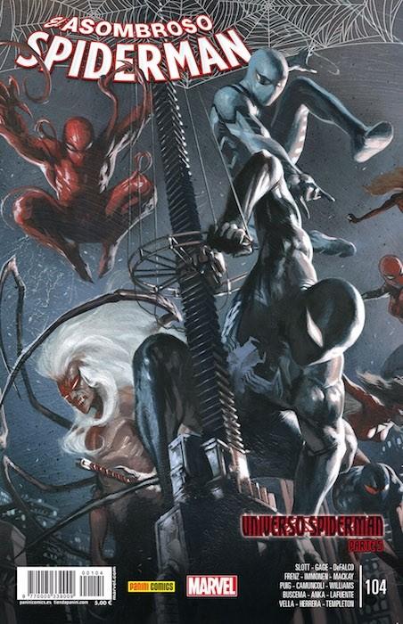 Couverture de Asombroso Spiderman -104- Universo Spiderman Parte 5
