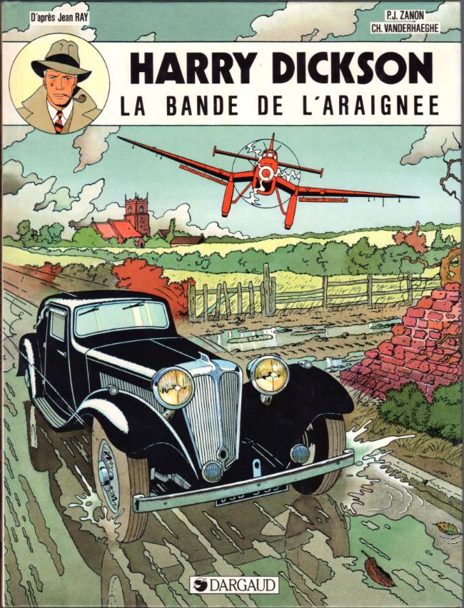 Couverture de Harry Dickson (Vanderhaeghe/Zanon) -1- La bande de l'araignée