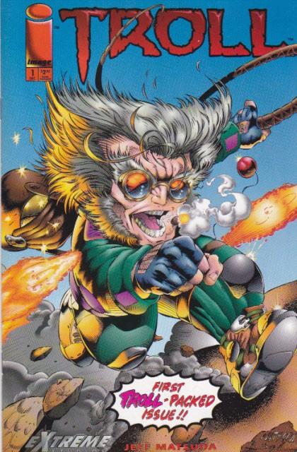 Couverture de Troll (1993) -1- A troll's tale
