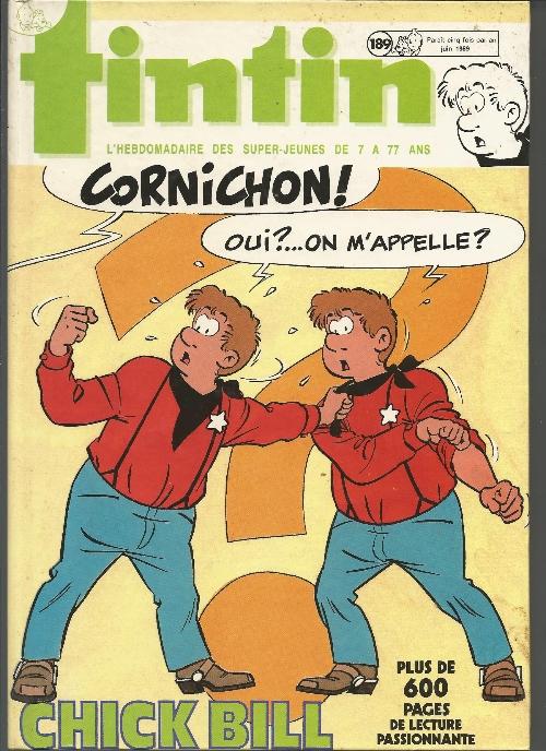 Couverture de (Recueil) Tintin (Album du journal - Édition belge) -189- Recueil Tintin Album du journal