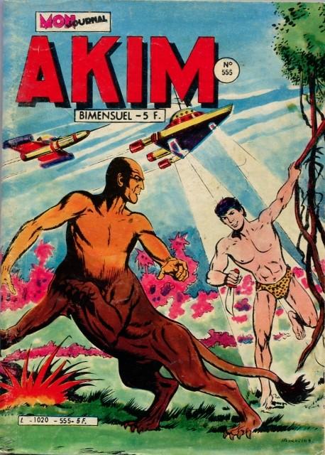 Couverture de Akim (1re série) -555- Les