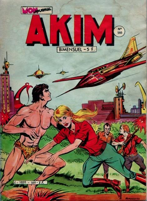 Couverture de Akim (1re série) -560-