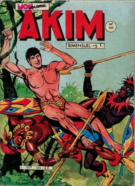 Couverture de Akim (1re série) -565-