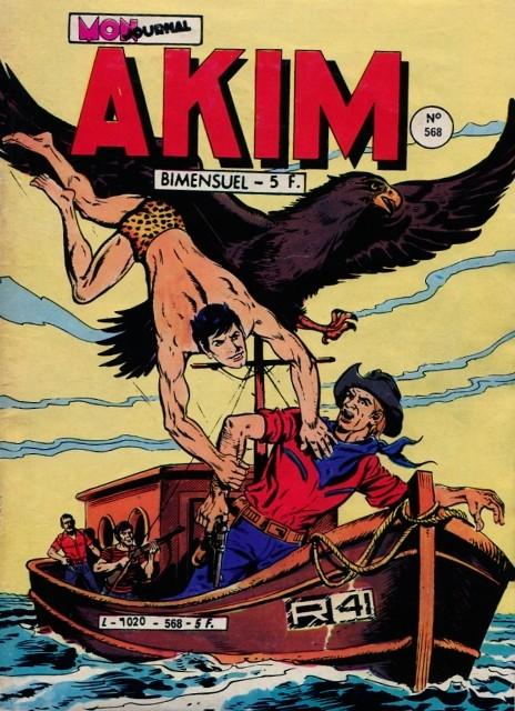 Couverture de Akim (1re série) -568- Le