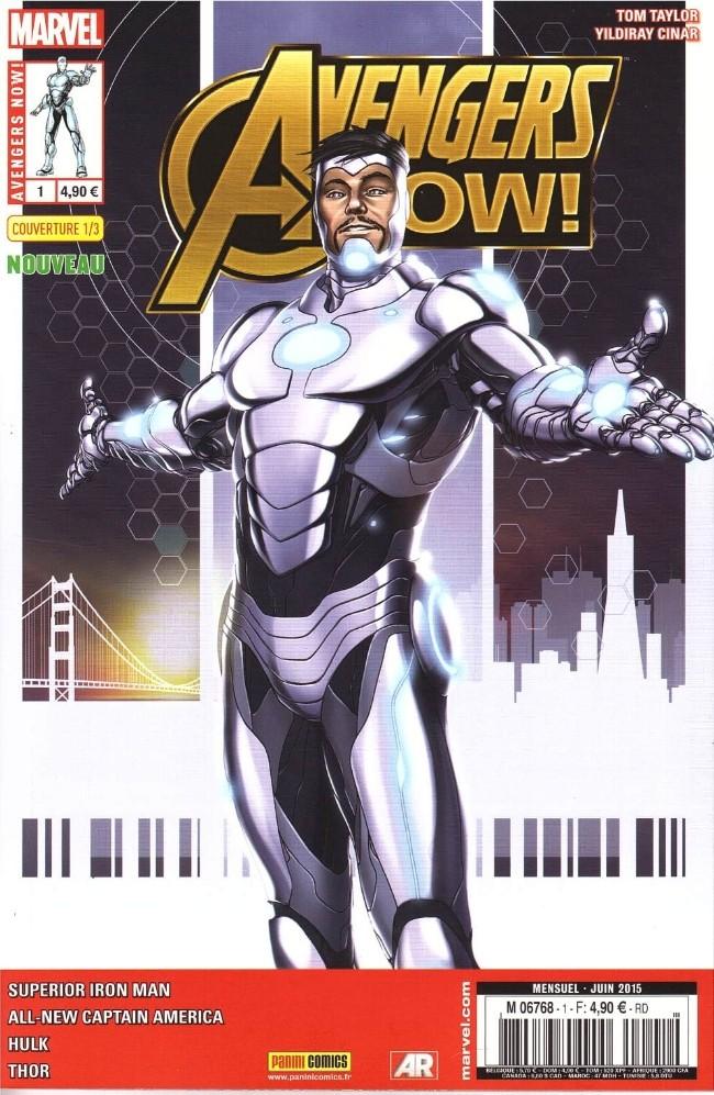 Couverture de Avengers Now! -11/3- Le commencement
