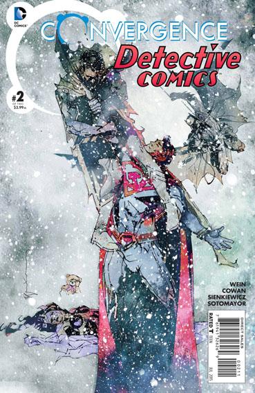 Couverture de Convergence Detective Comics (2015) -2- War and Pieces !