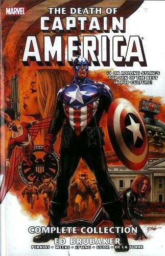 Couverture de Captain America (2005) -ULT03- The Death of Captain America Complete Collection