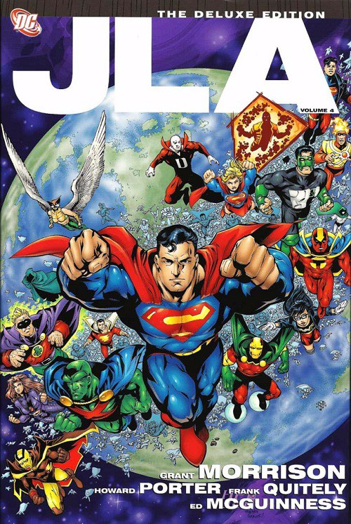 Couverture de JLA (1997) -INTHC04- Deluxe Edition Volume 4