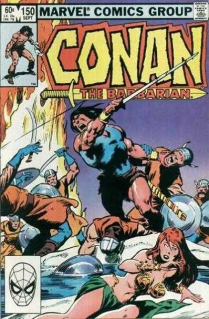 Couverture de Conan the Barbarian Vol 1 (Marvel - 1970) -150- Tower of flame!
