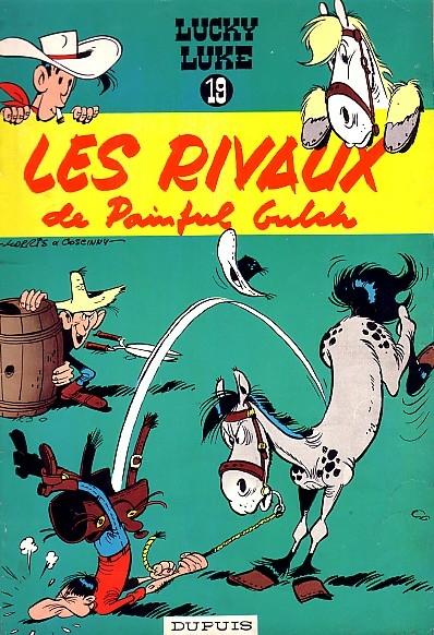 Couverture de Lucky Luke -19- Les rivaux de Painful Gulch