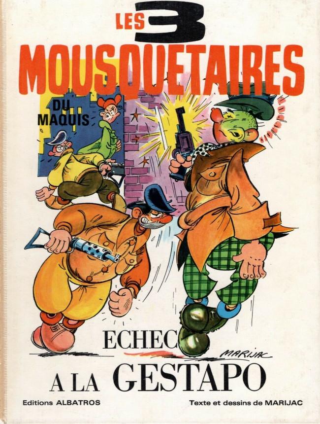 Couverture de Les 3 Mousquetaires du Maquis -1- Echec à la Gestapo