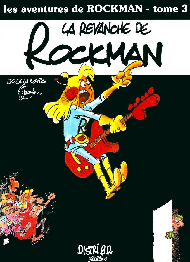 Couverture de Rockman (Les aventures de) -3- La revanche de Rockman