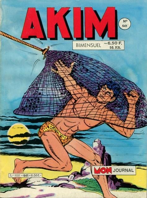 Couverture de Akim (1re série) -641- Vacances dans la jungle