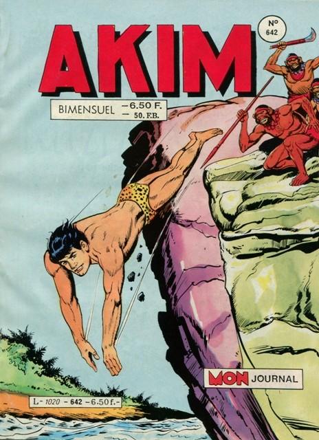 Couverture de Akim (1re série) -642- Le sceptre de la lumière