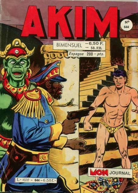 Couverture de Akim (1re série) -644- Les faux mercenaires
