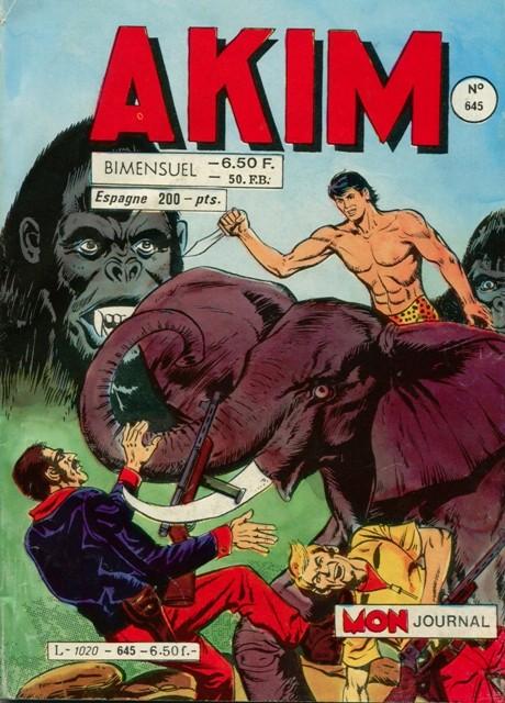 Couverture de Akim (1re série) -645- Le sosie