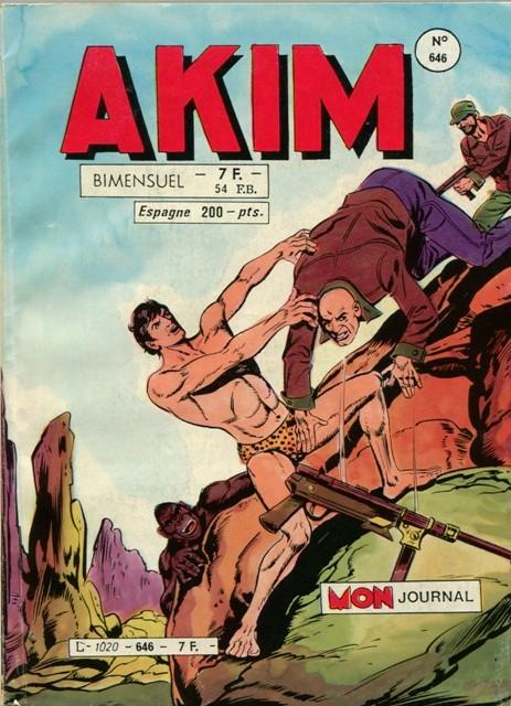 Couverture de Akim (1re série) -646- Parole de singes