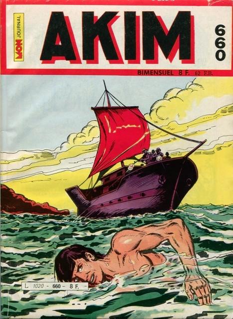 Couverture de Akim (1re série) -660- Expédition punitive
