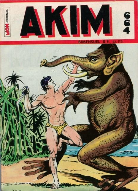 Couverture de Akim (1re série) -664- Les monstres du Dr. Pincus