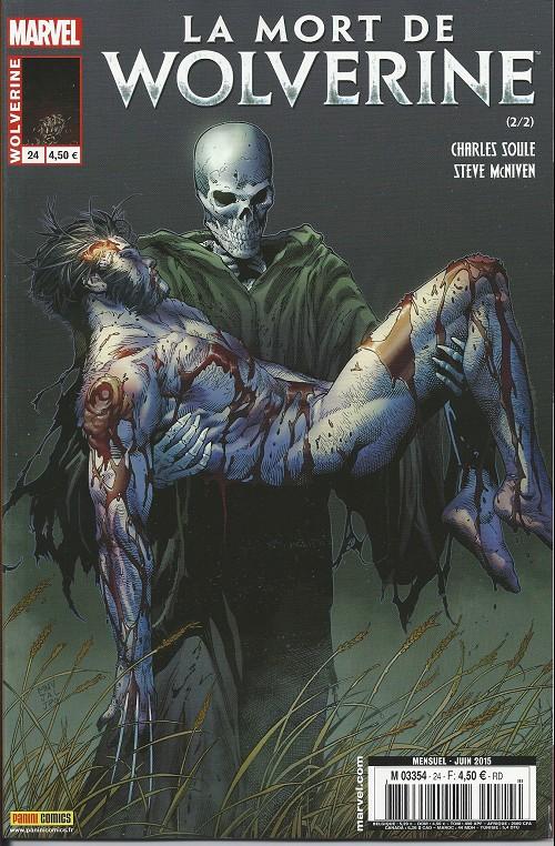 Wolverine v4 Tome 24 Panini Comics French
