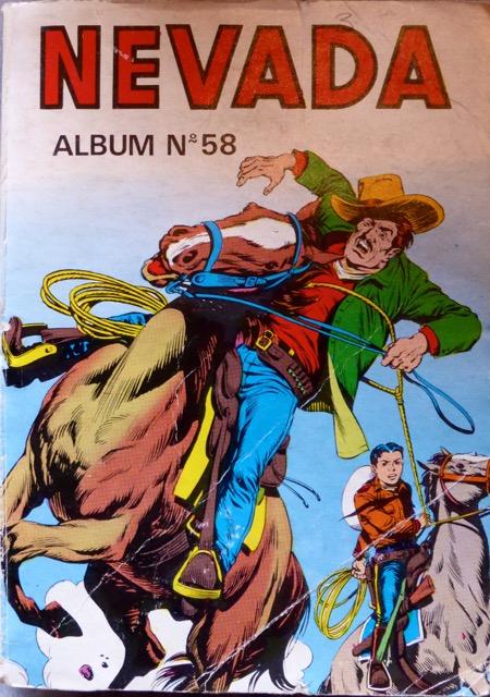 Couverture de Nevada (LUG) -REC58- Album N°58 (du n°363 au n°366)
