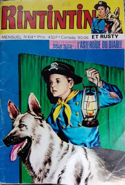 Couverture de Rin Tin Tin & Rusty (2e série) -104- Le chêne qui parle