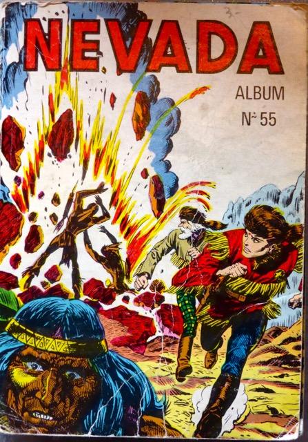 Couverture de Nevada (LUG) -Rec55- Album N°55 (du n°351 au n°354)
