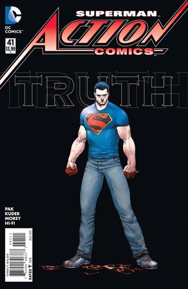 Couverture de Action Comics (2011) -41- Hard truth - Part 1