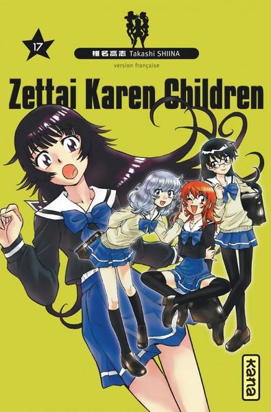 Couverture de Zettai Karen Children -17- Tome 17