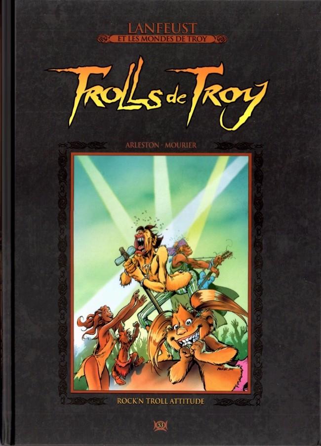 Couverture de Lanfeust et les mondes de Troy - La collection (Hachette) -53- Trolls de Troy - Rock'N Troll Attitude
