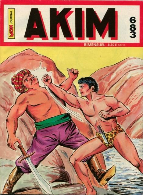 Couverture de Akim (1re série) -683- Le fer de la justice