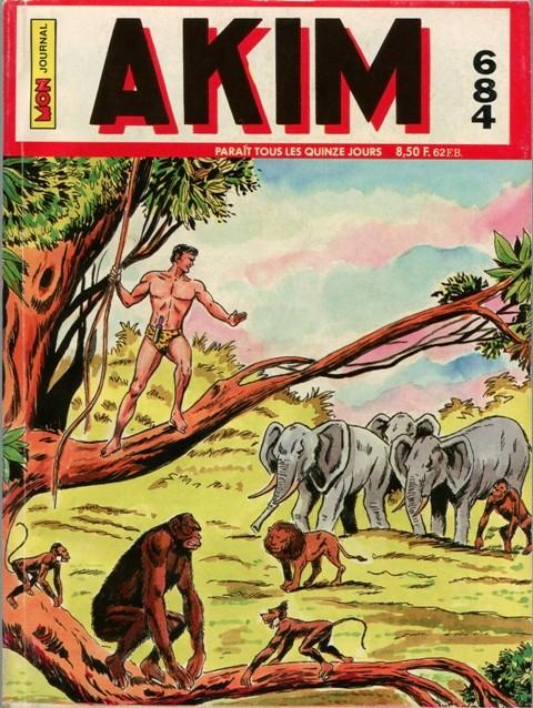 Couverture de Akim (1re série) -684- La boule de feu