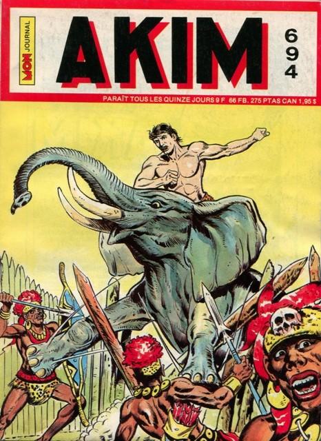 Couverture de Akim (1re série) -694- Le mystère de la vallée du couchant
