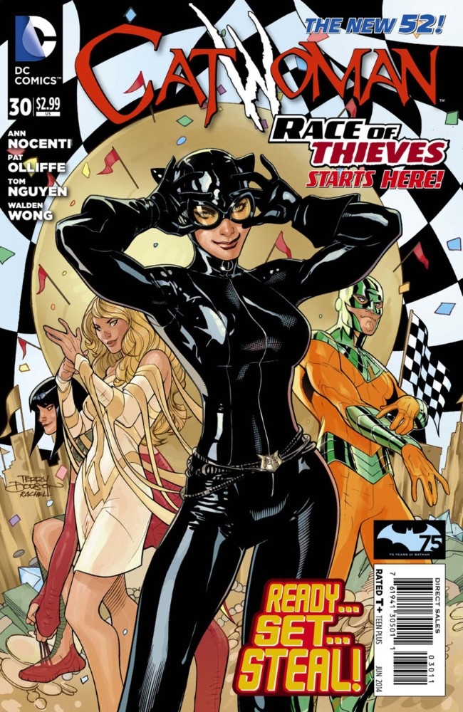 Couverture de Catwoman (2011) -30- Race of Thieves, Part 1: Crime Pays
