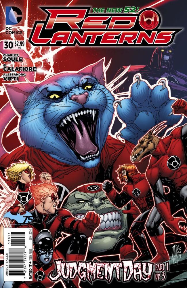 Couverture de Red Lanterns (2011) -30- Judgement Day, Part 1 of 3