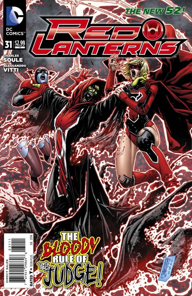 Couverture de Red Lanterns (2011) -31- Judgement Day, Part 3 of 3