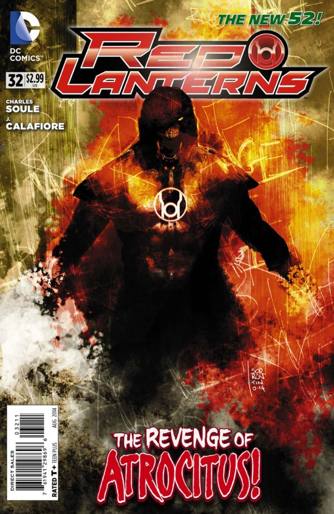 Couverture de Red Lanterns (2011) -32- Atrocities, Part 1 of 4: Cry Havoc