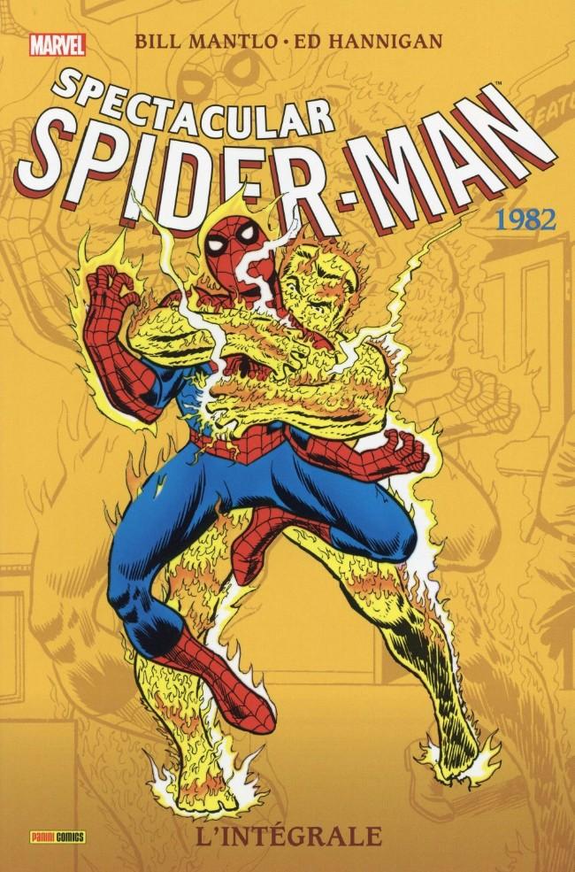 Couverture de Spectacular Spider-Man (L'intégrale) -6- L'intégrale 1982