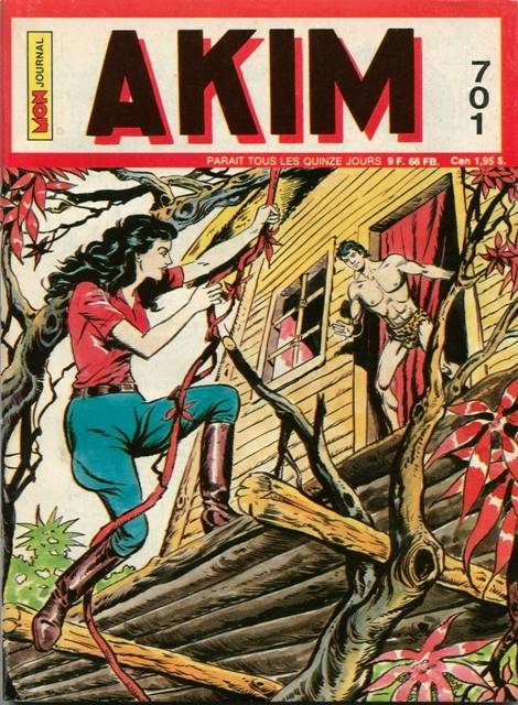 Couverture de Akim (1re série) -701- Le défi