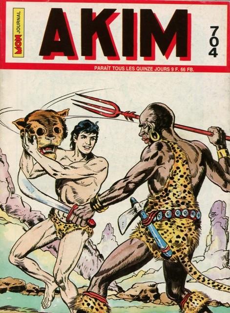 Couverture de Akim (1re série) -704- La nuit des sorciers