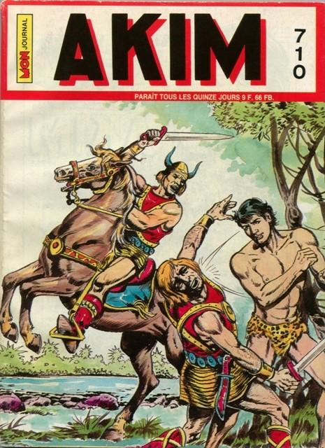 Couverture de Akim (1re série) -710- L'île aux brumes