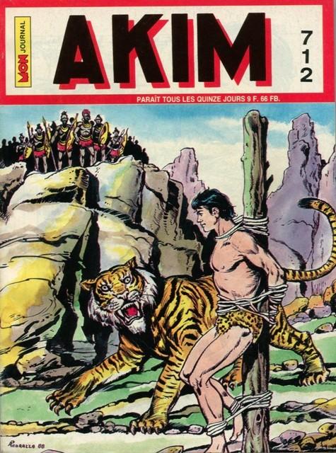 Couverture de Akim (1re série) -712- Korkha le tigre géant