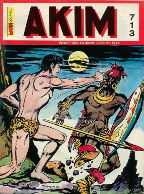 Couverture de Akim (1re série) -713- La bataille de la dernière chance