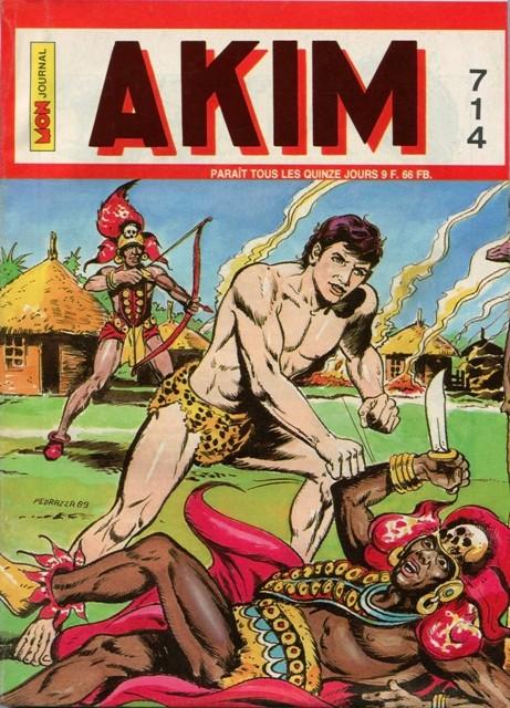 Couverture de Akim (1re série) -714- La vengeance des dieux
