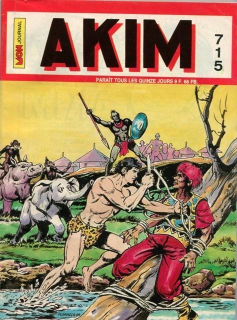 Couverture de Akim (1re série) -715- Celui que l'on croyait mort