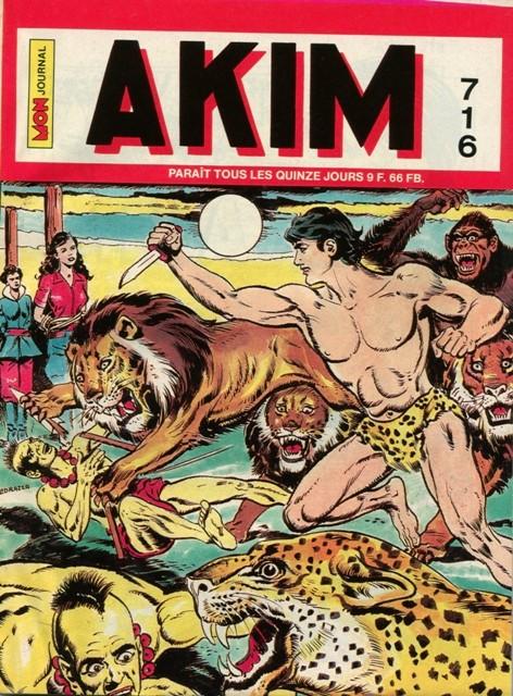 Couverture de Akim (1re série) -716- Le feu éternel