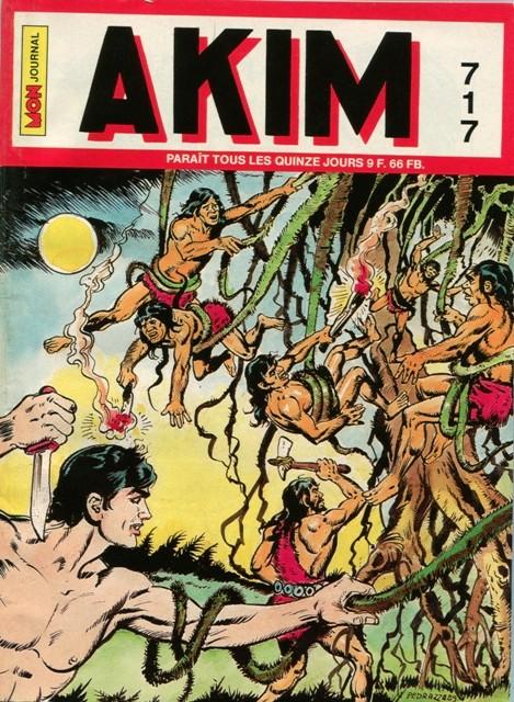 Couverture de Akim (1re série) -717- Les lianes serpents