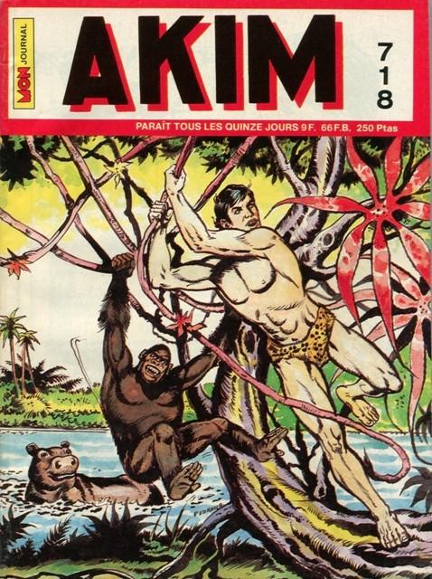 Couverture de Akim (1re série) -718- Le grand Tam-Tam